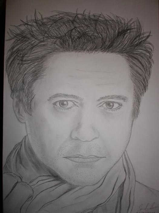 Robert Downey Jr by NierLee